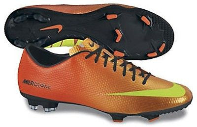 NIKE MERCURIAL VICTORY IV FG FIRM GROUND SOCCER SHOES SUNSET.