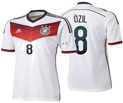 ADIDAS MESUT OZIL GERMANY AUTHENTIC ADIZERO HOME JERSEY FIFA WORLD CUP 2014