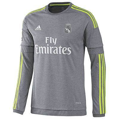 cheap for discount e03f6 110e7 ADIDAS JAMES RODRIGUEZ REAL MADRID LONG SLEEVE AWAY JERSEY 2015/16