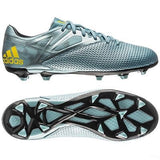 ADIDAS MESSI 15.3 FG FIRM GROUND YOUTH SOCCER SHOES Ice/Bright Yellow/Core Bla