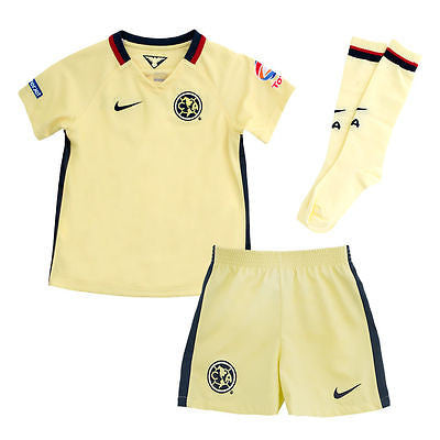 NIKE CLUB AMERICA LITTLE BOYS HOME KIT 2015/16