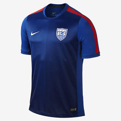NIKE USA SQUAD PRE MATCH TOP 2015/16 US SOCCER TEAM.