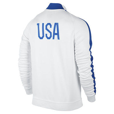 e4f1a1771 ... NIKE USA SOCCER TEAM AUTHENTIC N98 TRACK JACKET FIFA WORLD CUP BRAZIL  2014