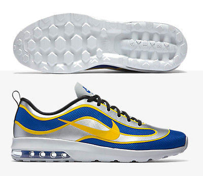 NIKE AIR MAX MERCURIAL R9 98 RONALDO BRAZIL SHOES Racer Blue/Metallic Silver/Bla