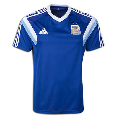 ADIDAS ARGENTINA TRAINING JERSEY FIFA WORLD CUP BRAZIL 2014