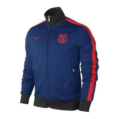 NIKE FC BARCELONA AUTHENTIC N98 JACKET Blue/Red
