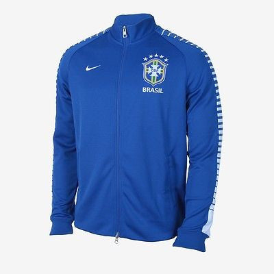 NIKE BRAZIL AUTHENTIC N98 JACKET Blue/White.