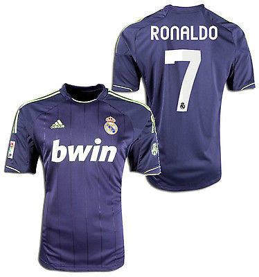 ADIDAS CRISTIANO RONALDO REAL MADRID AWAY JERSEY 2012/13.