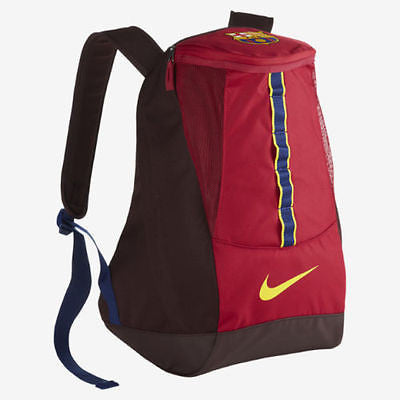 NIKE FC BARCELONA SHIELD 2.0 COMPACT BACKPACK Noble Red/Deep Burgundy