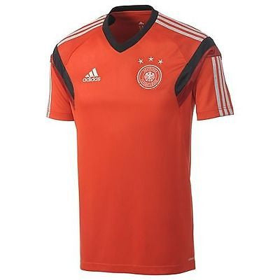 ADIDAS GERMANY TRAINING JERSEY Red/Black.