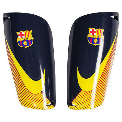 NIKE FC BARCELONA MERCURIAL LITE SHINGUARD FOOTBALL SOCCER  LA LIGA