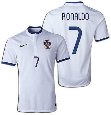 NIKE CRISTIANO RONALDO PORTUGAL AWAY JERSEY FIFA WORLD CUP 2014.