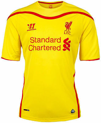WARRIOR LIVERPOOL FC AWAY JERSEY 2014/15