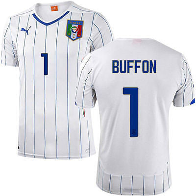 PUMA ITALY GIANLUIGI BUFFON AWAY JERSEY FIFA WORLD CUP BRAZIL 2014.