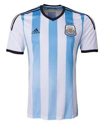 ADIDAS ARGENTINA YOUTH HOME JERSEY KIDS FIFA WORLD CUP BRAZIL 2014
