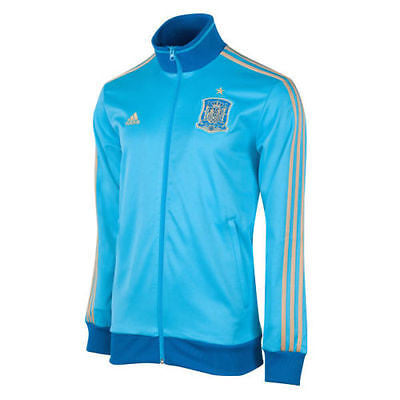 ADIDAS SPAIN TRACK TOP JACKET Cyan/Gold