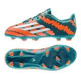 ADIDAS MESSI F10.3 FG FIRM GROUND YOUTH SOCCER SHOES Power Teal/Core White