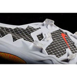 NIKE CR7 MERCURIAL VAPOR IX CR FG ACC FIRM GROUND SOCCER SHOES White/Total Crimson 5