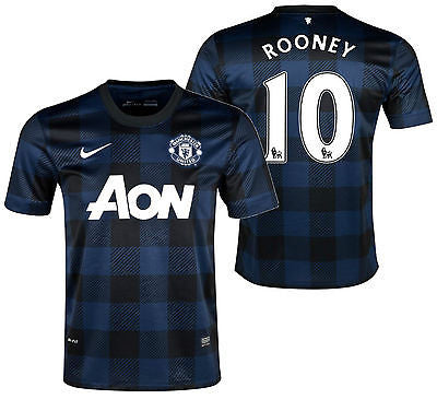 Nike Rooney Manchester United Away Jersey 2013/14 532838-411