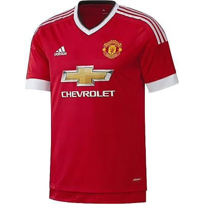 ADIDAS MANCHESTER UNITED AUTHENTIC HOME ADIZERO PLAYERS JERSEY 2015/16.