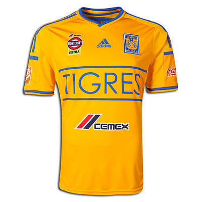 ADIDAS TIGRES UANL HOME JERSEY 2014/15