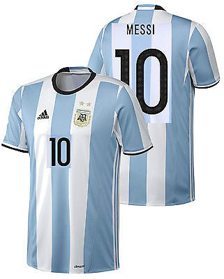 ADIDAS LIONEL MESSI ARGENTINA HOME JERSEY COPA AMERICA 2016.