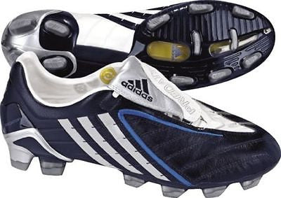 ADIDAS PREDATOR POWERSWERVE PS TRX FG FIRM GROUND SOCCER SHOES Dark Indigo/Silver