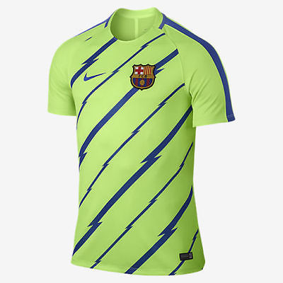 NIKE FC BARCELONA DRY TRAINING TOP Ghost Green/Game Royal 1