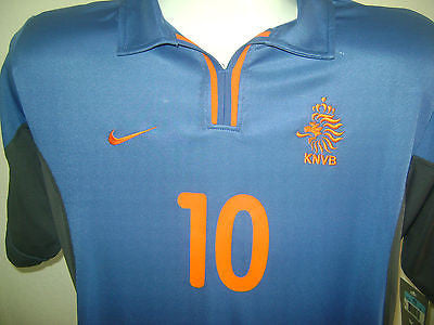 NIKE HOLLAND DENNIS BERGKAMP AWAY JERSEY NETHERLANDS UEFA EURO CUP 2000 DUTCH.