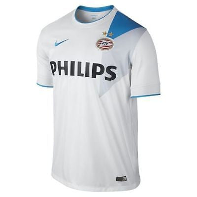 NIKE PSV EINDHOVEN AWAY JERSEY 2014/15 Football White/Laser Blue