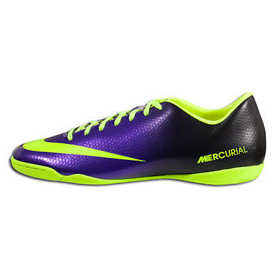 f8a9c2770ee ... NIKE MERCURIAL VICTORY IV IC INDOOR SOCCER SHOES FOOTBALL Electro Purple  Volt Bl ...