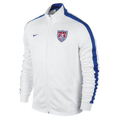 NIKE USA SOCCER TEAM AUTHENTIC N98 TRACK JACKET FIFA WORLD CUP BRAZIL 2014
