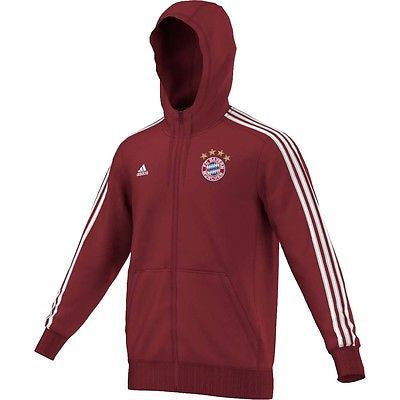 ADIDAS BAYERN MUNICH HOODED JACKET 2016/15