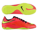 NIKE HYPERVENOM PHELON IC INDOOR SOCCER FUTSAL SHOES  Bright Crimson/Hyper Punch.