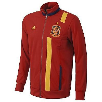 ADIDAS SPAIN ANTHEM TRACK TOP JACKET Red/Blue