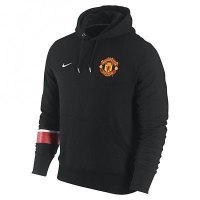 NIKE MANCHESTER UNITED CORE HOODIE Black..