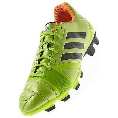 ADIDAS NITROCHARGE 3.0 TRX FG FIRM GROUND SOCCER SHOES SOLAR SLIME.