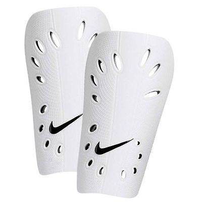 NIKE J GUARD SHINGUARD FOOTBALL SOCCER WHITE MENS.
