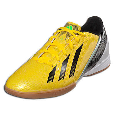 ADIDAS F10 IN INDOOR FUTSAL SOCCER SHOES Vivid Yellow/Black