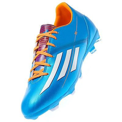 ADIDAS F10 FG FIRM GROUND SOCCER SHOES Solar Blue