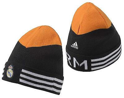 ADIDAS REAL MADRID 3-STRIPES WOOLIE BEANIE PUNJAB/LIGHT ORANGE