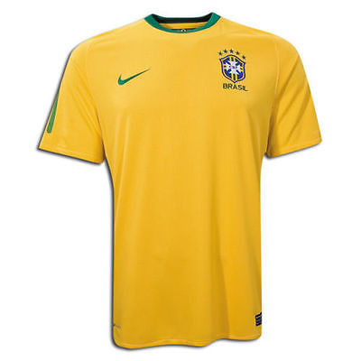 NIKE BRAZIL HOME JERSEY FIFA WORLD CUP SOUTH AFRICA 2010.