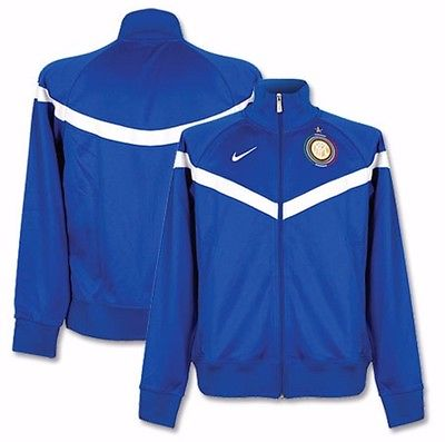 NIKE INTER MILAN UEFA CHAMPIONS LEAGUE EUGENE TRACK JACKET Blue/White.