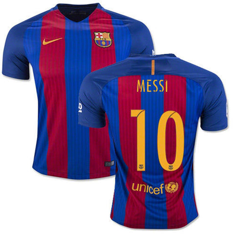 NIKE LIONEL MESSI FC BARCELONA HOME JERSEY 2016/17.