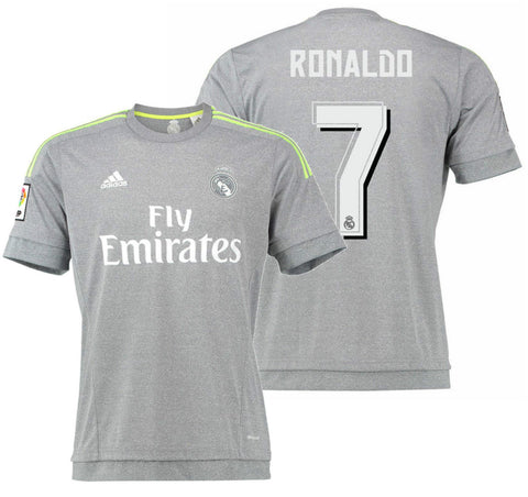 ADIDAS CRISTIANO RONALDO REAL MADRID AWAY JERSEY 2015/16 1