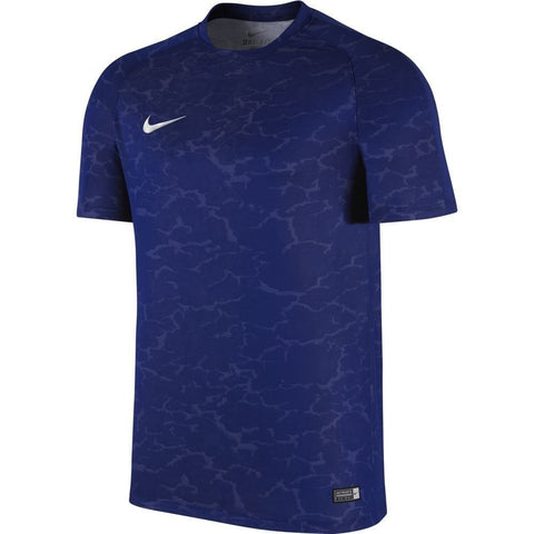 NIKE CRISTIANO RONALDO FLASH CR7 TRAINING TOP Royal.