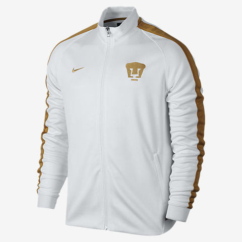 NIKE PUMAS UNAM AUTHENTIC N98 JACKET White/Gold.