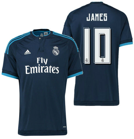 ADIDAS JAMES RODRIGUEZ REAL MADRID THIRD JERSEY 2015/16.