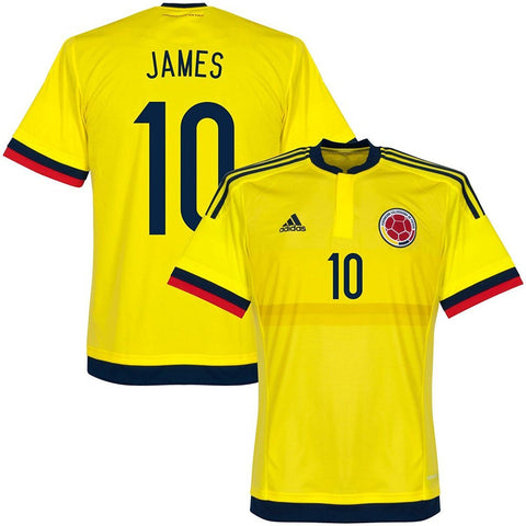 ADIDAS JAMES RODRIGUEZ COLOMBIA HOME JERSEY 2015/16 1