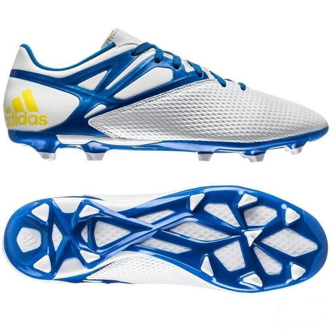 ADIDAS MESSI 15.3 FG/AG FIRM GROUND/ARTIFICIAL GROUND SOCCER SHOES Running White